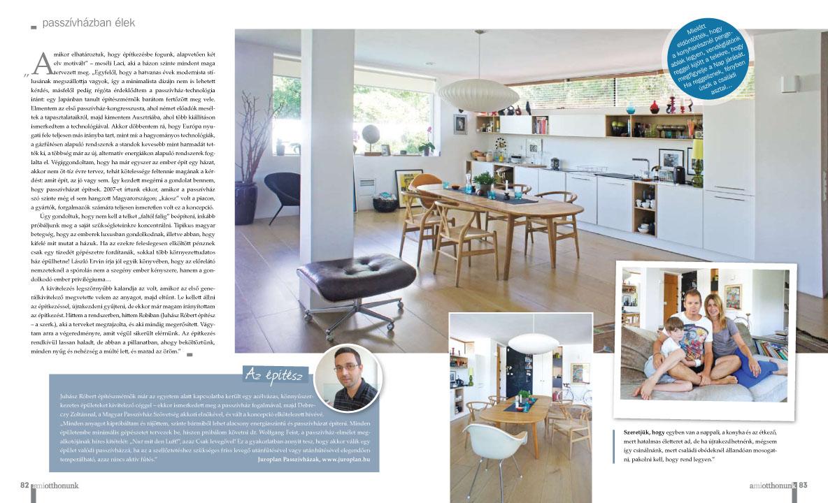 könnyűszerkezetes ház tervezés Mi otthonunk magazin cikke 2