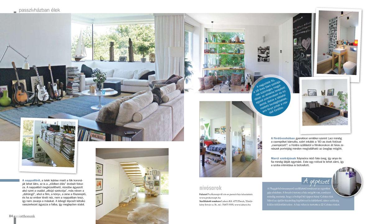 könnyűszerkezetes ház tervezés Mi otthonunk magazin cikke 3