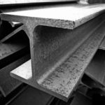 acélszerkezetes ház acél gerenda