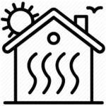 acélszerkezetes ház hőtárolása